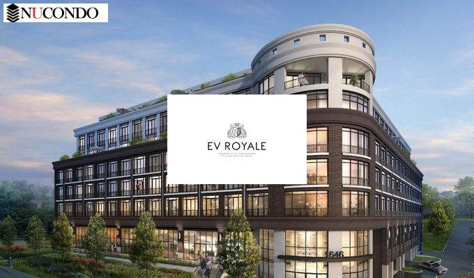 EV Royale Condominium Residences at Mississauga Road / south of Dundas Street West, west of Nanticoke Road