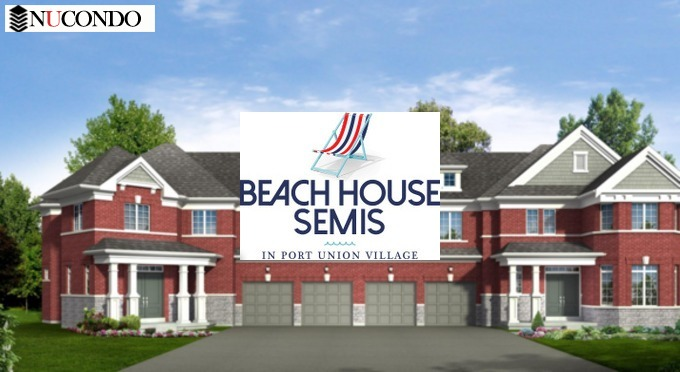 Beach House Semis in Port Union Village /                                        265 Port Union Rd,Scarborough,ON M1C 2L2