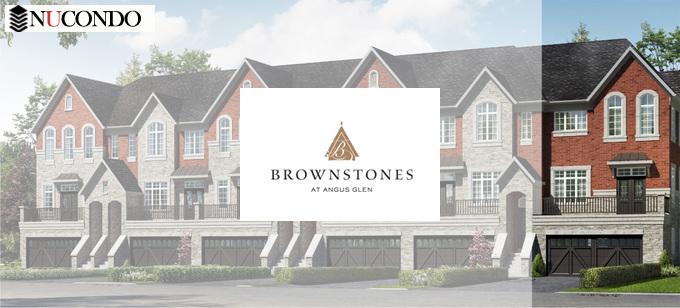 Brownstones at Angus Glen / 4297 Major Mackenzie Dr E,Markham,ON